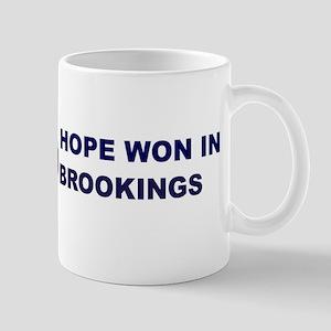 Hope Won in BROOKINGS Mug