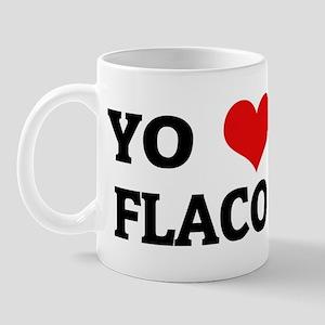 Amo (i love) Flaco Mug