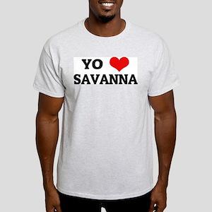 Amo (i love) Savanna Ash Grey T-Shirt