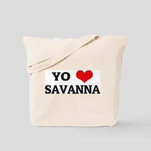 Amo (i love) Savanna Tote Bag