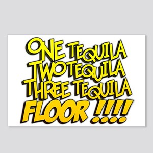 One Tequila!! Postcards (Package of 8)