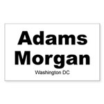 Adams Morgan Sticker (Rectangle)