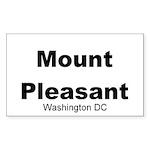 Mount Pleasant Rectangle Sticker