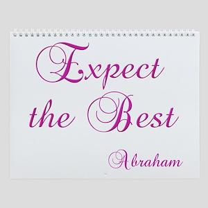 Expect the Best #155 Abraham Wisdom Wall Calendar