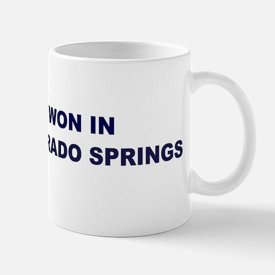 Hope Won in COLORADO SPRINGS Mug