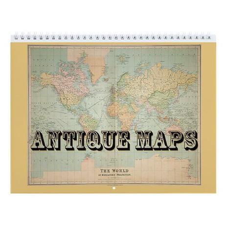 Antique Maps Calendar