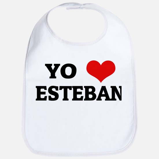 Amo (i love) Esteban Bib