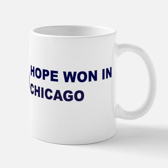 Hope Won in CHICAGO Mug
