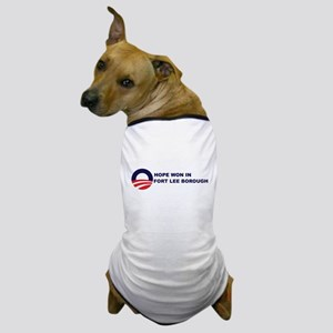 Hope Won in FORT LEE BOROUGH Dog T-Shirt