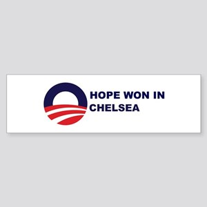 Hope Won in CHELSEA Bumper Sticker