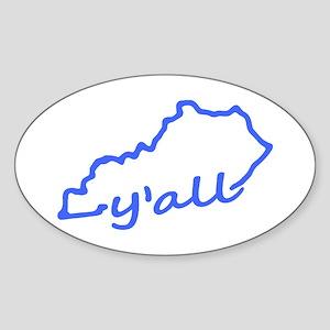 Kentucky Yall Sticker
