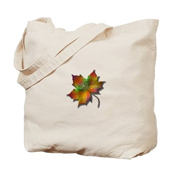 """Give Thanks"" Leaf Tote Bag"