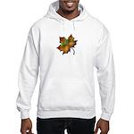 """Give Thanks"" Leaf Hooded Sweatshirt"