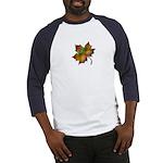 """Give Thanks"" Leaf Baseball Jersey"
