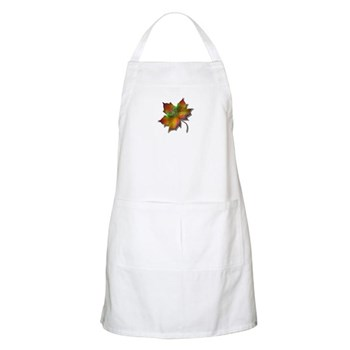 """Give Thanks"" Leaf BBQ Apron"