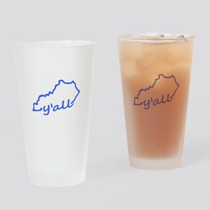 Kentucky Yall Drinking Glass