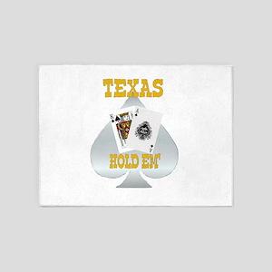 Texas Gold 5'x7'Area Rug