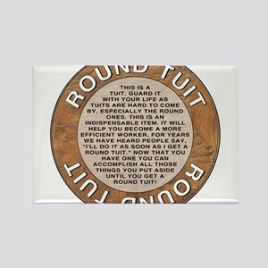 """Round Tuit 2.25"""" Button Magnets"""