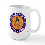 Michigan Mason Large Mug