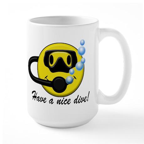 Have a Nice Dive! Large Mug
