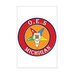 Michigan OES Mini Poster Print