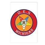 Michigan OES Postcards (Package of 8)