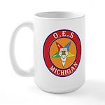 Michigan OES Large Mug