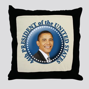 President Obama inauguration Throw Pillow