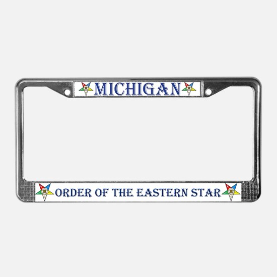 Michigan OES License Plate Frame