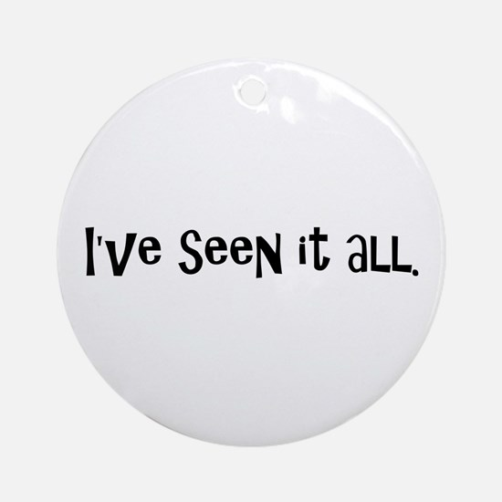 Funny Radiologist Ornament (Round)