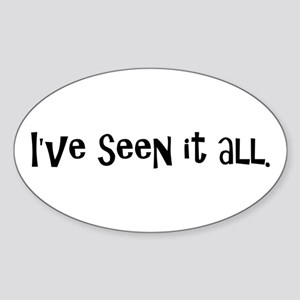 Funny Radiologist Oval Sticker