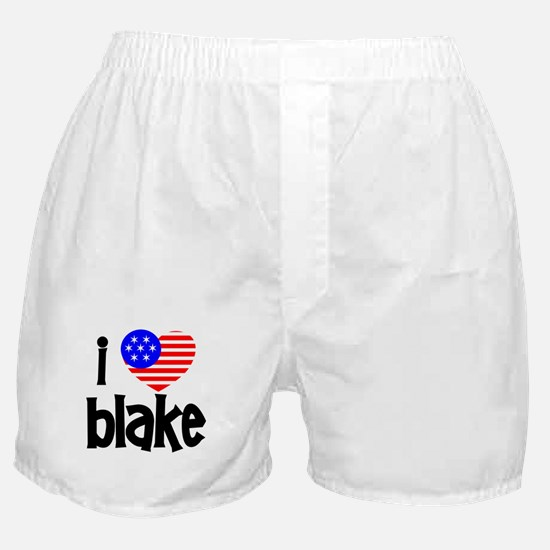 I Love James Blake Boxer Shorts