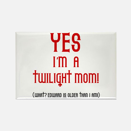 Twilight Mom Rectangle Magnet