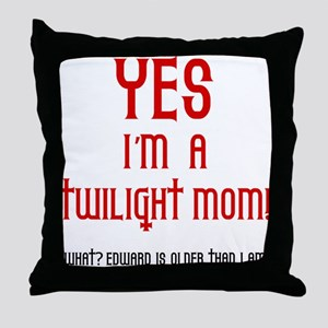 Twilight Mom Throw Pillow