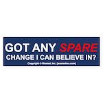 Got Any SPARE Change Bumper Sticker (50 pk)