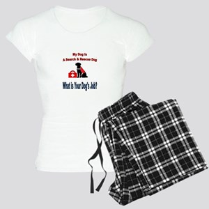 search and rescue dog Pajamas