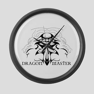 Dragon Master Large Wall Clock