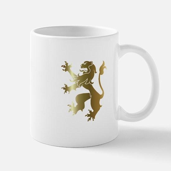 Cute Rampant lion Mug