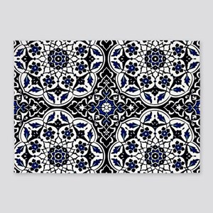 Morocco Blue 5'x7'Area Rug