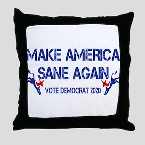 Blue MASA 2020 Throw Pillow