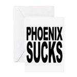 Phoenix Sucks Greeting Card