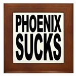 Phoenix Sucks Framed Tile