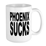 Phoenix Sucks Large Mug