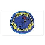USS Gurnard Rectangle Sticker