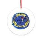 USS Gurnard Ornament (Round)