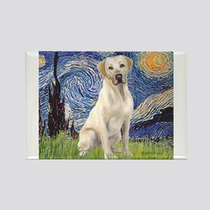 Starry - Yellow Lab 7 Magnets