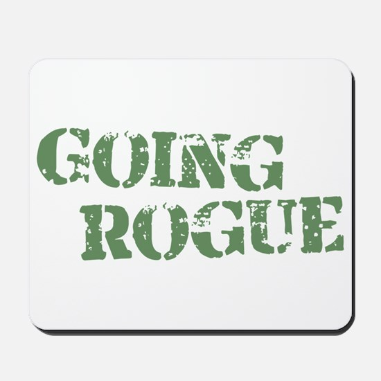 Military Going Rogue Mousepad
