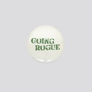 Military Going Rogue Mini Button