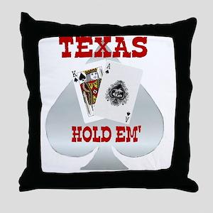 Texas Red Throw Pillow
