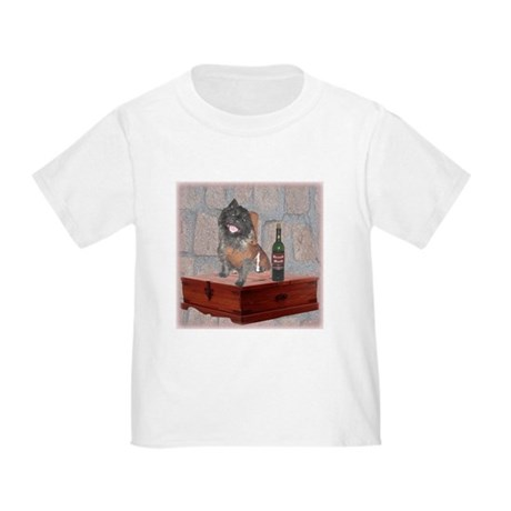 Monastic Cairn Terrier Toddler T-Shirt